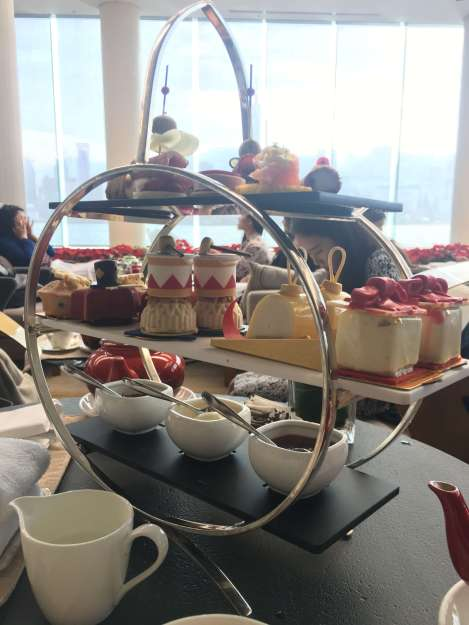 afternoon tea in hong kong set of three tiers