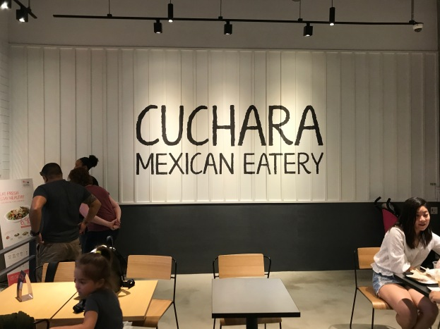 cuchara mexican eatery interior of the restaurant